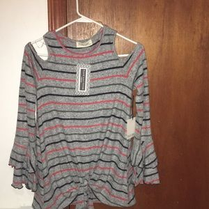 Long sleeve fashion top